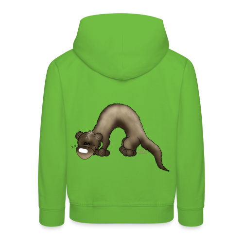 KinderShirt Frettchen Bo - Kinder Premium Hoodie
