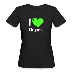 I love Organic Bio Shirt - Frauen Bio-T-Shirt