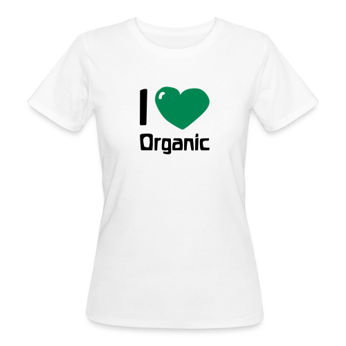 I love Organic Bio Shirt - Women's Organic T-Shirt