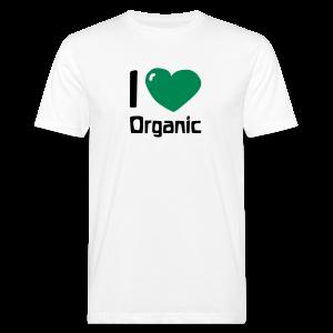 I love Organic Bio Shirt - Männer Bio-T-Shirt