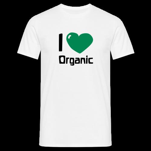 I love Organic Shirt - Men's T-Shirt