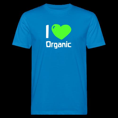 I love Organic Bio Shirt - Men's Organic T-Shirt