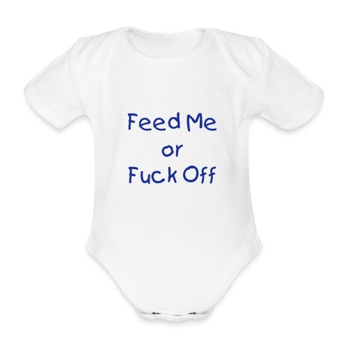 Baby Grow - Organic Short-sleeved Baby Bodysuit