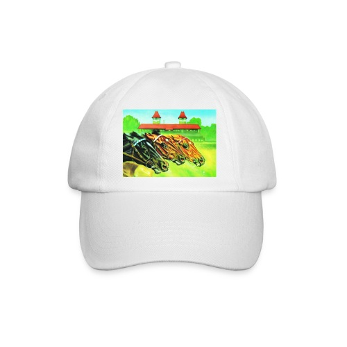 Basecap mit Pferdeköpfen - Baseballkappe