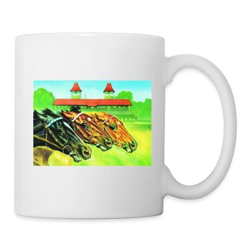 Tasse mit Pferdeköpfen - Tasse
