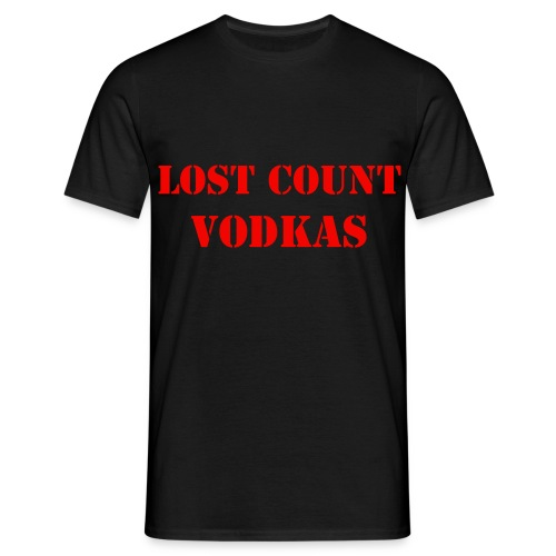 Vodka men's tee - Men's T-Shirt