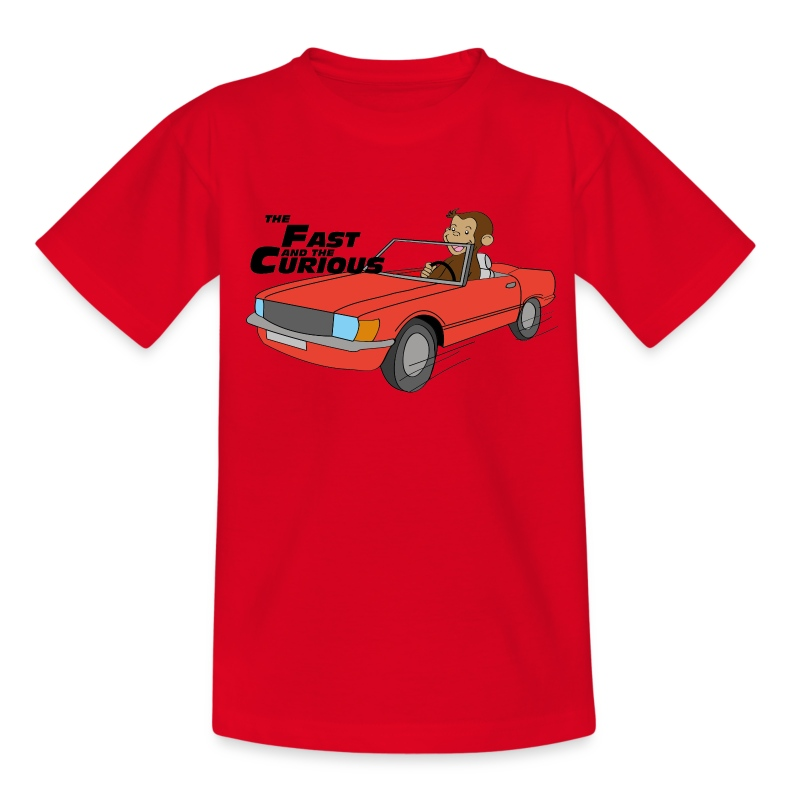 The Fast & the Curious - Teenage T-shirt