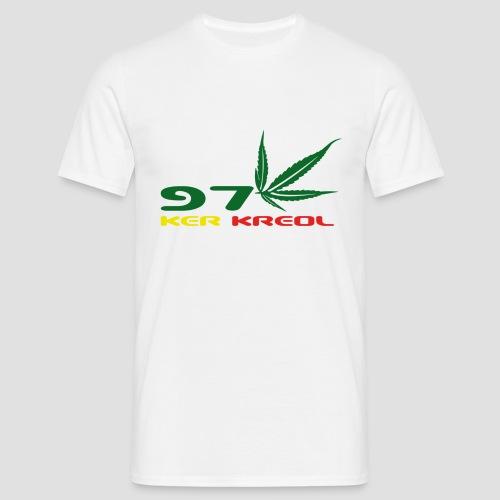 T-shirt Classique Homme 974 ker kreol Zam zam Rastafari - T-shirt Homme