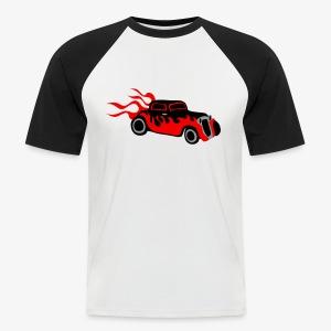 Retro hot rod  - Men's Baseball T-Shirt