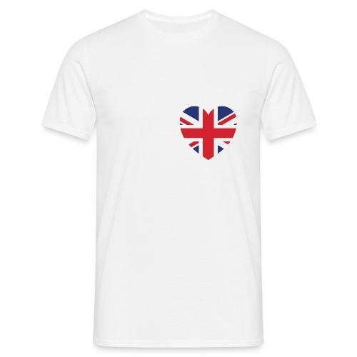 I love Great Britain - Men's T-Shirt
