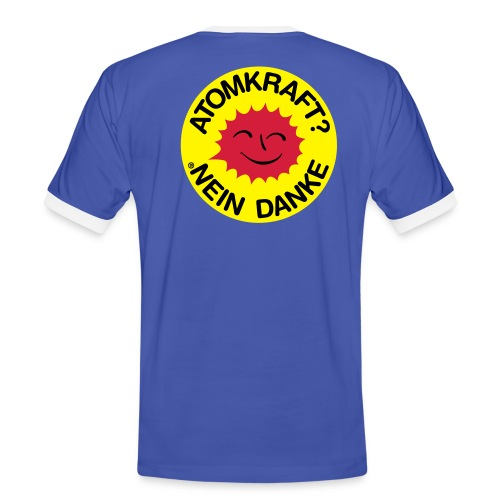 Anti-Atomkraft Shirt - Männer Kontrast-T-Shirt