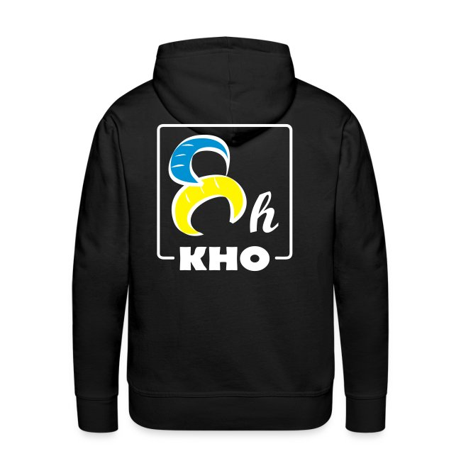 Hoodie 8H Color Custom Border White