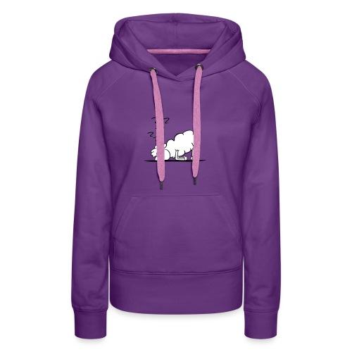 Z Z Z - Sweat-shirt à capuche Premium pour femmes