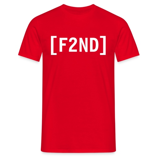 F2ND Clan Red - T-shirt Homme