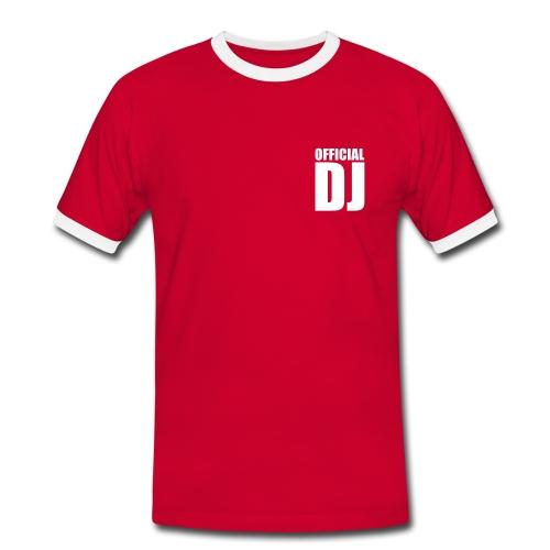 Shirt Official DJ - Männer Kontrast-T-Shirt