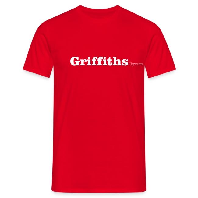 Griffiths Cymru white text