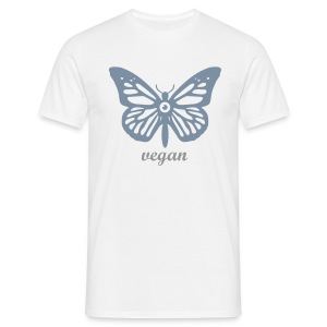 Mens - Butterfly_vegan - Männer T-Shirt