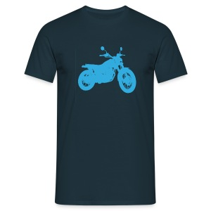 Blue GrassTracker  - Men's T-Shirt