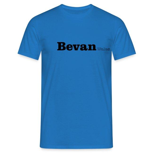 Bevan Wales black text