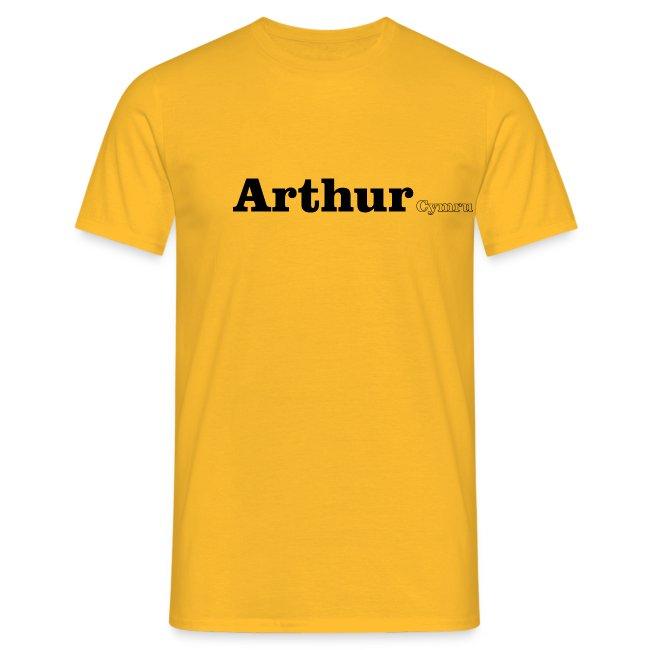 Arthur Cymru black text