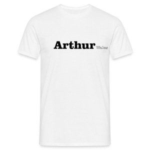 Arthur Wales black text - Men's T-Shirt