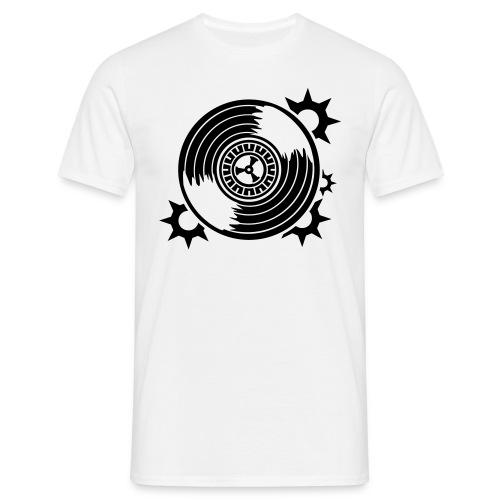Koszulka z vinlem i nazwą radia na plecach ! - Koszulka męska