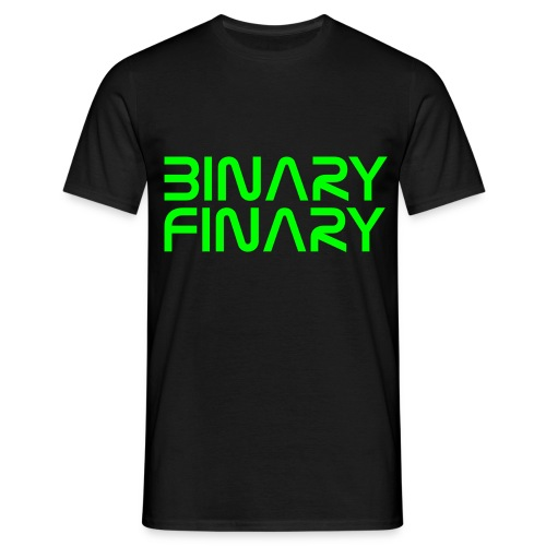 Binary Finary Mens T-Shirt - Men's T-Shirt