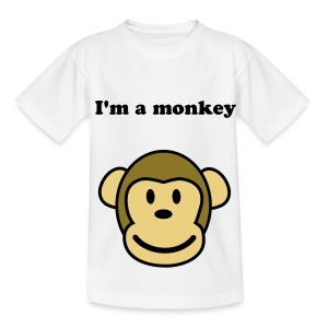 cheeky monkey - Teenage T-shirt