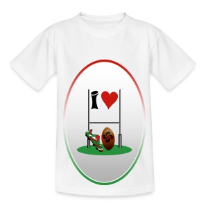 rugby is amazing - Teenage T-shirt