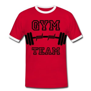 gym team - Men's Ringer Shirt