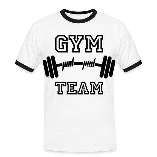 gym team - Men's Ringer Shirt