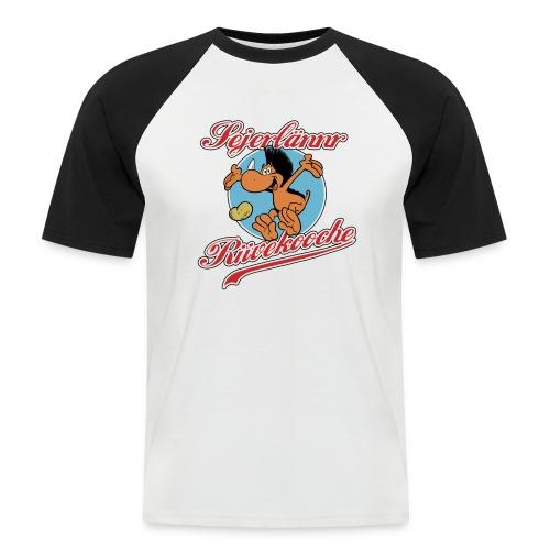 Sejerlännr Riivekooche - Männer Baseball-T-Shirt