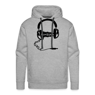 Cuffie Motif Audio Wave: dubstep musica elettronica  Pullover