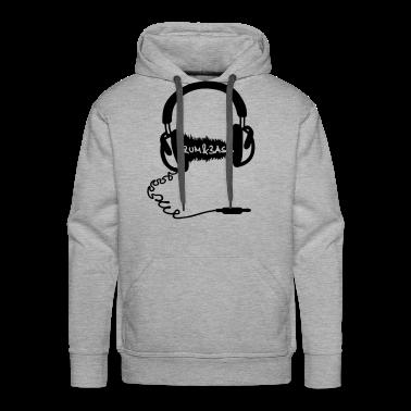 Headphones Audio Wave Motif: Drum & Bass Electronic Music  D N' B Drum n' Bass Drum&Bass Hoodies & Sweatshirts