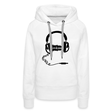 Headphones Audio Wave Motif: Drum & Bass Electronic Music  D N' B Drum n' Bass Drum&Bass Hoodies & Sweatshirts