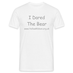 I Dared The Bear - Mens/Unisex Tee - Men's T-Shirt