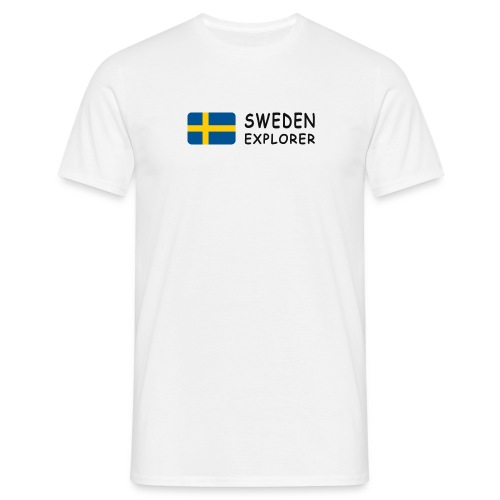 Classic T-Shirt SWEDEN EXPLORER black-lettered - Men's T-Shirt