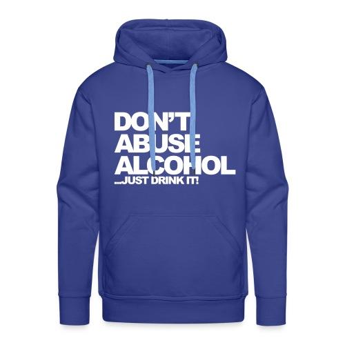 AlcoholSweater - Mannen Premium hoodie