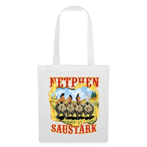 Netphen - saustark - Stoffbeutel