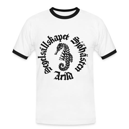 Sjöhästen Kontrasttröja herr - Kontrast-T-shirt herr