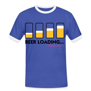 BEER LOADING... TEE - Men's Ringer Shirt