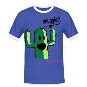 SNUGGLE? TEE - Men's Ringer Shirt
