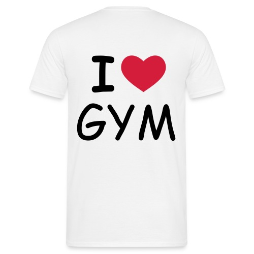 I LOVE GYM - T-shirt Homme