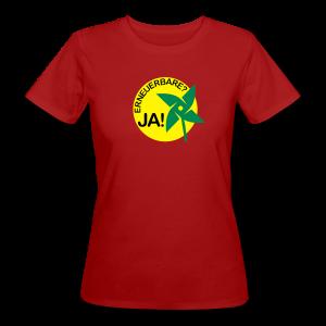 shirt erneuerbare ja! - Frauen Bio-T-Shirt