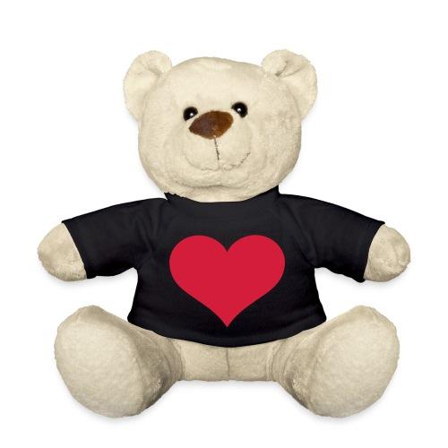 oso corazon - Osito de peluche