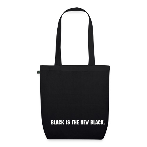 Black Bag - Bio-Stoffbeutel