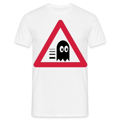 Verkehrstafel Mampfer Monster - Männer T-Shirt