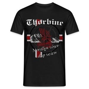 Männer T-Shirt Polarlicht - Männer T-Shirt