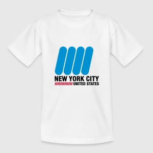 New York City (3c)++ Kids' Shirts - Teenage T-shirt