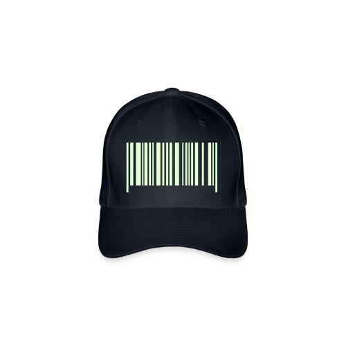 Glow in dark FlexFit Barcode Cap - Flexfit Baseball Cap